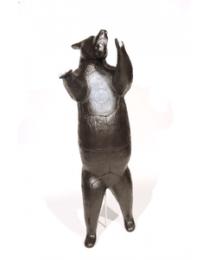 Franzbogen Schwarzbär stehend