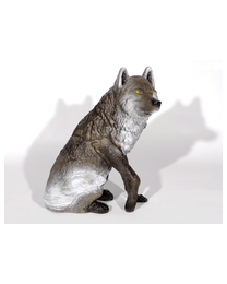 Franzbogen Wolf sitzend