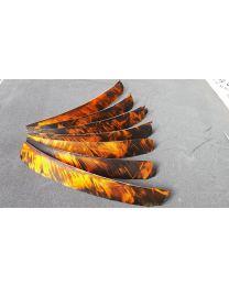 Federn Naturfeder volle Länge TRE CAMO FIRE
