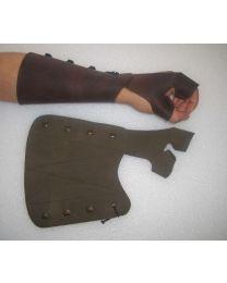 Kombiarmschutz Modell 2 für die linke Hand Lederarmschutz für die Bogenhand