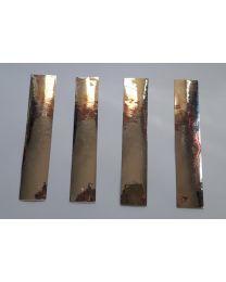 Arrow Cresting Design SILVER STAR PFEILCRESTING 15x3,5 cm 3er Pack