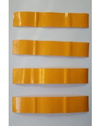 Arrow Cresting Design SONNENGELB PFEILCRESTING 15x3,5 cm 3er Pack