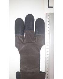 Handschuh Hunter DUNKELBRAUN L