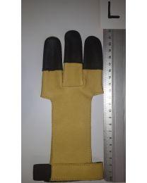 Handschuh Hunter GELB-SCHWARZ L