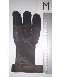 Handschuh Hunter DUNKELBRAUN M