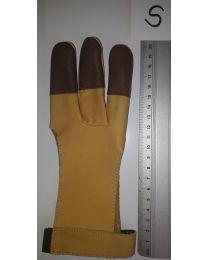 Handschuh Hunter GELB-BRAUN S