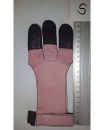 Handschuh Hunter ROSArot S