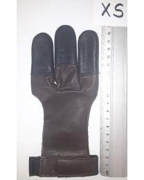 Handschuh Hunter DUNKELBRAUN XS