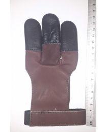 Handschuh Hunter DUNKELBRAUN XXS