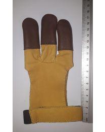 Handschuh Hunter GELB-braun XXS