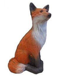 Leitold 3D-Ziel Tier Rotfuchs sitzend red fox