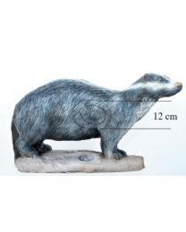 Leitold 3D-Ziel Tier Dachs laufend
