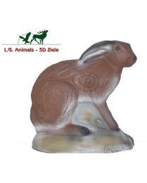 Leitold 3D-Ziel Tier sitzender Feldhase