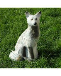Leitold 3D-Ziel Tier Polarfuchs sitzend