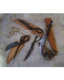 Messer geschmiedet handgeschmiedete Jagdmesser