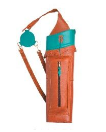 Rückenköcher TB Q 2 Big Indian Turquoise