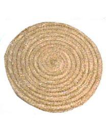 Strohscheibe 80 cm strong natur Zielscheibe aus Stroh extra dick