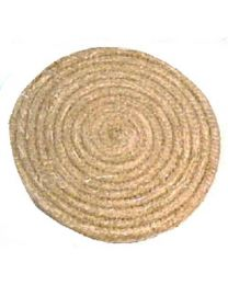 Strohscheibe 60 cm strong natur Zielscheibe aus Stroh extra dick