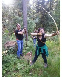 Erlebnis Kurs Gutschein Bogenschiessen lernen FAMILIENKURS Spass haben