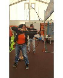 Erlebnis Kurs Gutschein Bogenschiessen lernen PAARKURS Spass für zwei